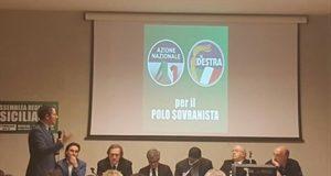 Al Palacultura l'Assemblea Regionale unitaria di Azione Nazionale e La Destra