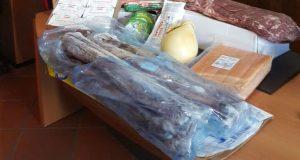 I Carabinieri sequestrano circa 250 kg di alimenti in cattivo stato di conservazione
