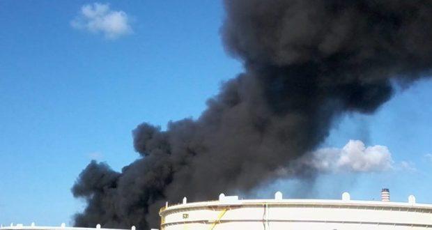Ennesimo incendio alla raffineria di Milazzo