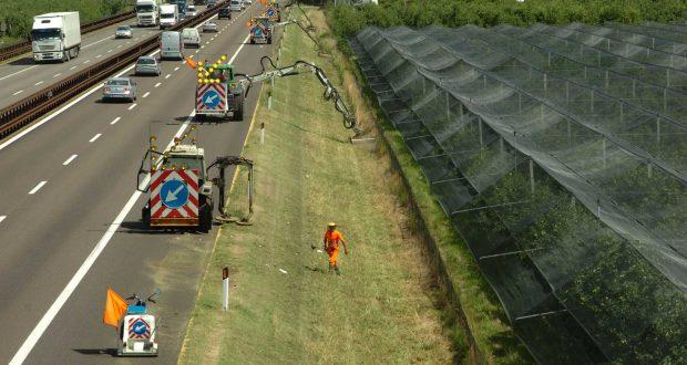 A20 ME/PA: lavori di manutenzione del verde nella tratta Barcellona P.G./Falcone