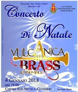 Domani concerto di Natale della Vulcanica Brass Ensamble