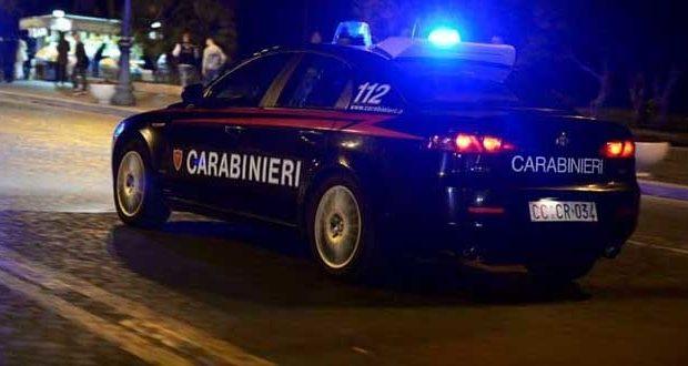 Giovane arrestato dai Carabinieri per lesioni e resistenza
