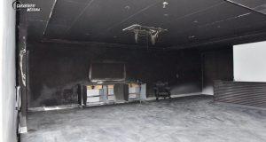 Incendio sala ricevimenti Monforte San Giorgio: in manette gli autori