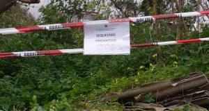 Polizia Metropolitana: scoperte e sequestrate 3 discariche abusive contenente materiali pericolosi