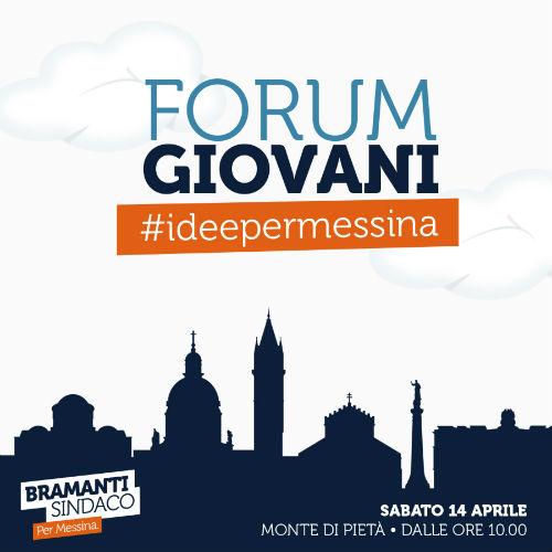 Forum Giovani: sabato 14 il via ai lavori dei tavoli tecnici