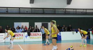 Il Messina Volley perde in casa contro l'Ekuba Futura Palmi