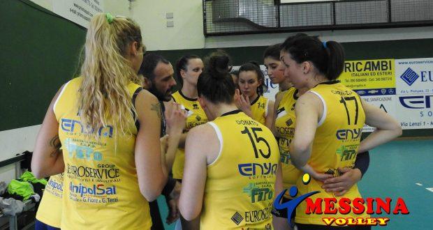 Il Messina Volley esce sconfitto dalla trasferta contro la Pro V.Team Modica