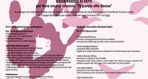 """""""Dalle parole ai fatti"""": il convegno organizzato dal Cirs sulle donne vittime di violenza"""