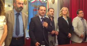 """Messina, De Luca sindaco in conferenza stampa: """"Con le calunnie ci hanno regalato 5 punti"""""""