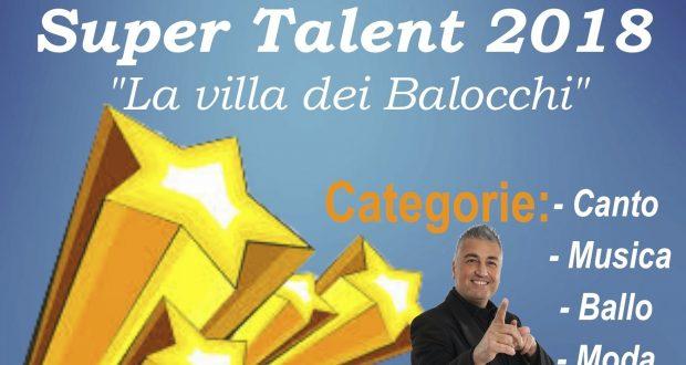 """Ritorna il Talent """"La Villa dei Balocchi"""""""