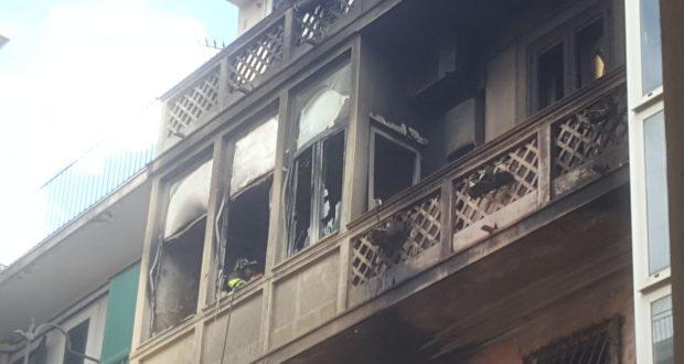 Messina, incendio in via dei Mille: perdono la vita due bambini