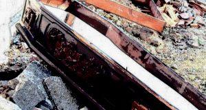 Messina, trovata cassa da morto senza coperchio fuori dallo Stadio