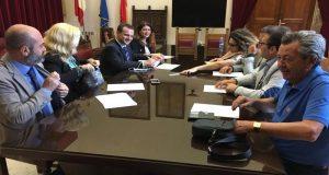 Messina: il sindaco De Luca incontra i dirigenti dei dipartimenti dell'amministrazione comunale
