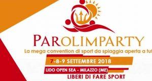 """Milazzo, convention """"Parolimparty"""": lo sport per la disabilità"""