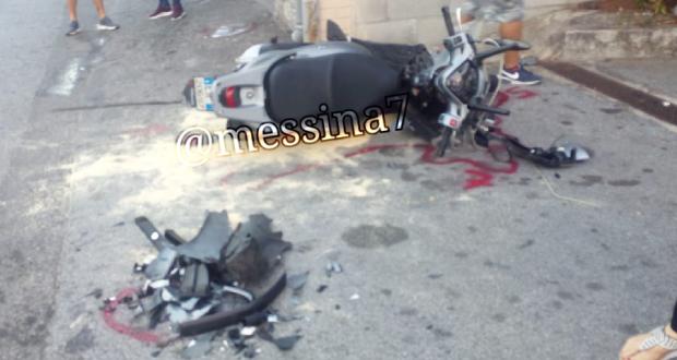 Incidente stradale a Spadafora: due feriti