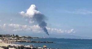 Fumo nero dalla torcia della Raffineria di Milazzo: che cosa sta accadendo?