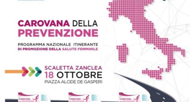 Lacarovana della prevenzione approda a Scaletta Zanclea