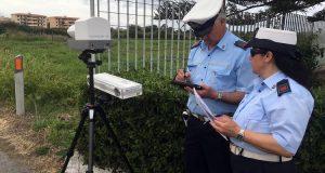 Polizia Municipale: controlli con autovelox