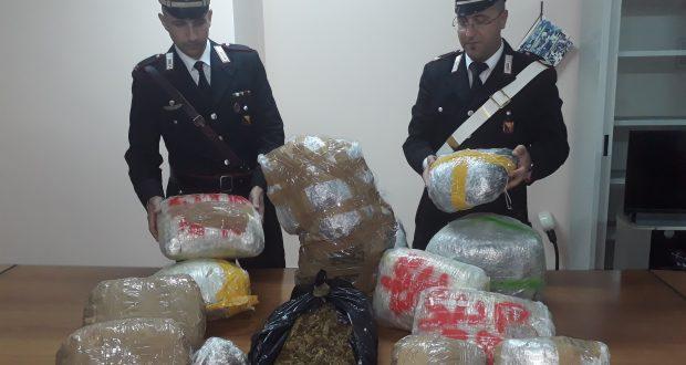 Quasi 30 kg di marijuana in casa: arrestata 20enne messinese