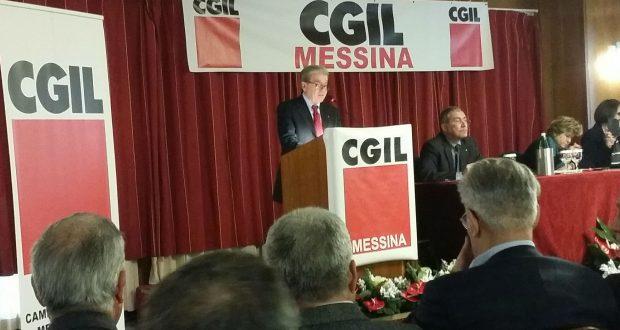 Domani settimo congresso provinciale Cgil Messina