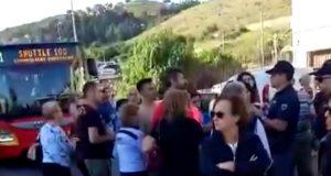 Statale bloccata a Galati Marina: protesta dei residenti