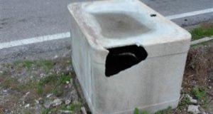 Mortelle: serbatoio in eternit ai bordi della strada, Biancuzzo ne chiede la rimozione