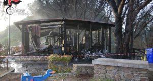 Piraino: arrestato l'autore dell'incendio del ristorante La Pineta