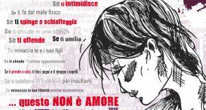 """""""Questo non è amore"""": la Questura di Messina ritorna con la sua campagna di sensibilizzazione contro la violenza sulle donne"""