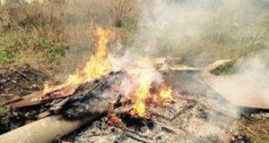 Carabinieri: arrestati 2 fratelli messinesi per combustione illecita di rifiuti