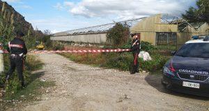 Sequestrata dai carabinieri discarica di rifiuti interrata