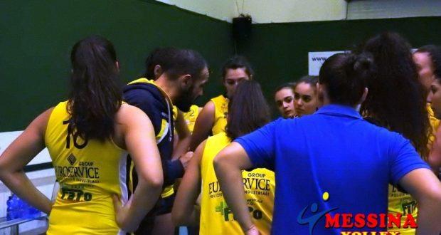 Volley, serie C femminile: sconfitta casalinga per il Messina Volley contro la Kondor Catania
