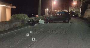 Incidente stradale a Castanea: muore motociclista