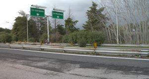 Riaperta al transito la A18