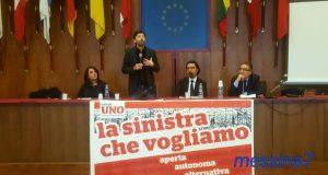 """L'onorevole Speranza a Messina: """"Il PD è figlio di un tempo che non c'è più"""""""