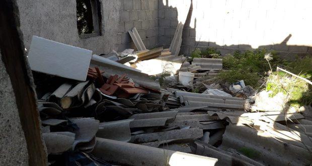 Sant'Alessio Siculo: sequestrata dalla polizia metropolitana un'estesa discarica d'amianto