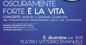 Messina, al via domani una 8 giorni per festeggiare i 50 anni dalla morte di Quasimodo