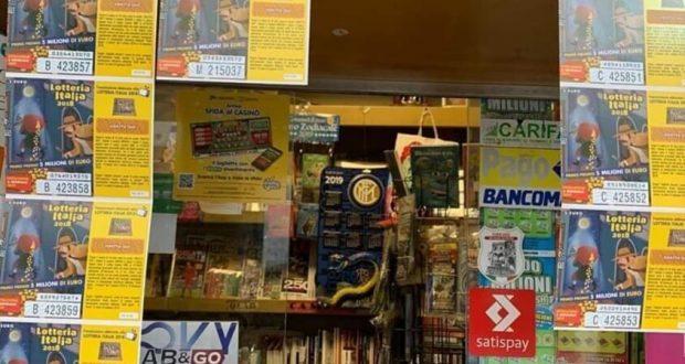 Lotteria Italia: la fortuna bacia Messina e Villafranca Tirrena