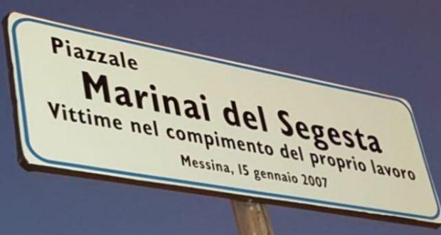 Il tributo di Messina alle vittime del Segesta: cambia l'intestazione del piazzale della Stazione marittima