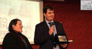 """A Piero Genovese il premio """"Grotta di Polifemo"""" Sezione Giornalismo del Miff"""