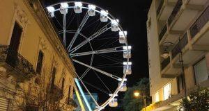 Messina: la ruota panoramica resterà fino al 10 marzo