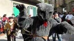Carnevale a Saponara con la sfilata dell'Orso e della Corte Principesca