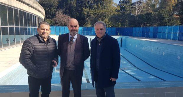 Impianti sportivi di Villa Dante: sopralluogo del vicesindaco e dell'assessore allo sport