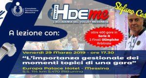 Pallavolo: l'HdeMe della Fipav Messina organizza un incontro con l'arbitro internazionale Stefano Cesare