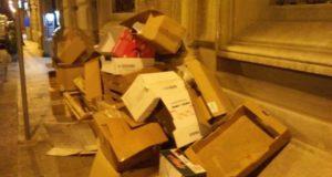 I commercianti non fanno la differenza: rifiuti non raccolti da MessinaServizi