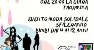 Moda e beneficenza per aiutare il reparto pediatrico di Taormina