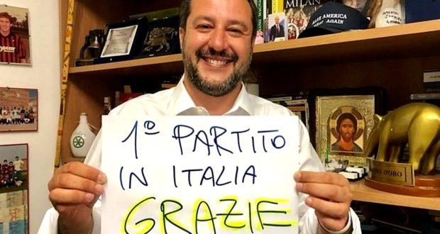 Europee 2019: vince la Lega di Matteo Salvini