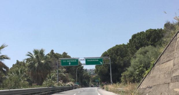 A18, svincolo di Taormina: modifiche alla viabilità per lavori di manutenzione