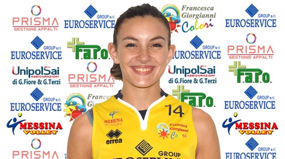 Serie C: Francesca Cannizzaro confermata al Messina Volley