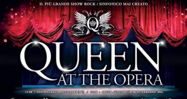 L'11 agosto parte il tour siciliano di 'Queen At The Opera'