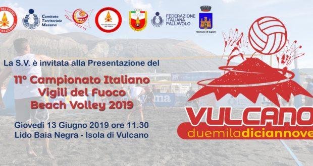 Tutto pronto a Vulcano per il Campionato italiano Beach Volley VVF